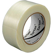 3M Tartan Filament Tape 8934 48mm x 100m 4 Mil Clear - Pkg Qty 24