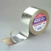 "3M™ Venture Tape™ FSK Facing Tape 1525CW Natural Aluminum, 6"" x 150' - Pkg Qty 8"