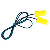 3M™ E-A-R Soft Metal Detectable Earplugs, Corded, Poly Bag, 200-Pair