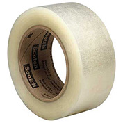 "3M™ Scotch® 313 Carton Sealing Tape 2""x 110 Yds. 2.5 Mil Clear - Pkg Qty 36"