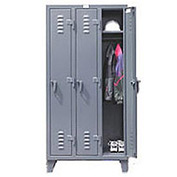 Strong Hold® Heavy Duty Slim-Line Locker 16-18-1TSL - Single Tier 14x18x78 1 Door
