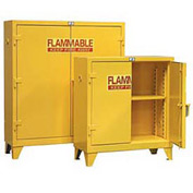 Strong Hold® Heavy Duty Flammable Cabinet 30.5PSC - With Manual-Close Doors 30 Gallon