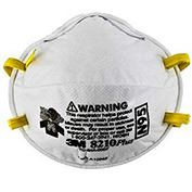 3M™ 8210PLUS N95 Particulate Respirators, , Box of 20