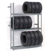 "4 Tier Single Entry Tire Rack 60""W x 18""D x 120""H"