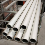 "Kee Safety - A150SCH40BND - Schedule 40 Aluminum Pipe (6 ft x 6 Pcs) Price Per Foot - 1-1/2"" Dia., - Pkg Qty 36"