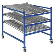 "UNEX Flow Cell Mobile Gravity Rack 48""W x 60""D x 54""H"
