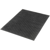 "Outdoor Entrance Matting 1/4"" Thick 3'W X 5'L Black"