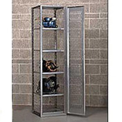 "Hallowell HLV882-1PL Welded Visible Storage Locker 18-3/4""X18""X74-3/4"""