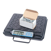 "Brecknell GP250 Digital Shipping Scale With Memory Lock 250lb x 0.5lb 12-1/2"" x 11"" Platform"