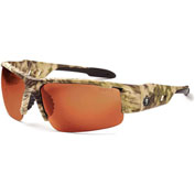 Ergodyne® 52320 Skullerz® Dagr Safety Glasses, Kryptek Frame/Copper Lens - Pkg Qty 12