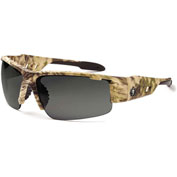 Ergodyne® 52330 Skullerz® Dagr Safety Glasses, Kryptek Frame/Smoke Lens - Pkg Qty 12