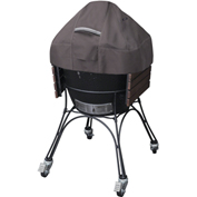 Classic Accessories Ravenna Ceramic BBQ Grill Dome Cover, X-Large, Taupe - 55-419-055101-EC