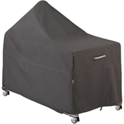 Ravenna Patio BBQ Grill with Offset Table Cover, Taupe