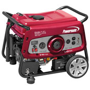 Powermate 6957,DF3500E,Dual Fuel Portable Generator,3500/3200W,Gas/LP,Electric/Recoil Start,EPA/CSA