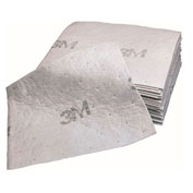 "3M™ M-PD1520DD Maintenance Sorbent Pad, High Capacity, 15.5"" x 20.5"", 100 Pads/Case"