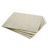 "3M™ 85862 Chemical Sorbent Pad Medium Capacity MCC 17"" x 15"", 100 Pads/Case"