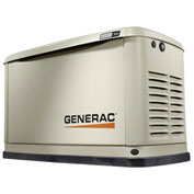 Generac 7029, 8kW/9kW, 120/240 1-Phase, Air Cooled Guardian Generator, NG/LP, Alum. Encl.