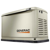 Generac 7031, 10kW/11kW, 120/240 1-Phase, Air Cooled Guardian Generator, NG/LP, Aluminum Enclosure