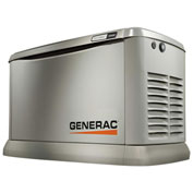 Generac 7034, 15kW, 120/240 1-Phase, Air Cooled Ecogen Generator, NG/LP, Aluminum Enclosure