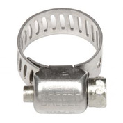 "Mini Hose Clamp - 7/16"" Min - 25/32"" Max  - 10 Pack"