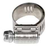 "Hex Screw Aero Seal Clamp - 13/16"" Min - 1-3/4"" Max  - 10 Pack"