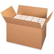 """Double Wall Corrugated Box Heavy-Duty EH Container 36"""" x 22"""" x 22"""" 200lb - 5 Pack"""