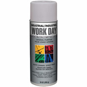 Krylon Industrial Work Day Enamel Paint Gray Primer - A04418007 - Pkg Qty 12
