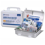 First Aid Only™ 90563 First Aid Kit, 25 Person, ANSI Compliant, Class A+, Plastic Case