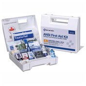 First Aid Only™ 90589 First Aid Kit, 25 Person, ANSI Compliant, Class A+, Plastic Case