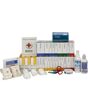 First Aid Only™ 90619 First Aid Refill w/Meds For 2 Shelf Kit, ANSI Compliant, Class B+