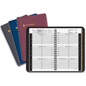 "AT-A-GLANCE® Tabbed Telephone/Address Appointment Book 3/8"" x 5-1/2"" x 8-5/16"" Assorted"