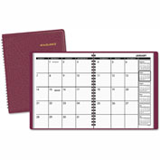 AT-A-GLANCE® Monthly Planner, 6 7/8 x 8 3/4, Winestone, 2017