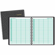 AT-A-GLANCE® Four-Person Group Daily Appointment Book, 8 x 10 7/8, White, 2017