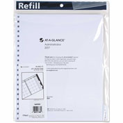 AT-A-GLANCE® Three/Five-Year Monthly Planner Refill, 9 x 11, White, 2018