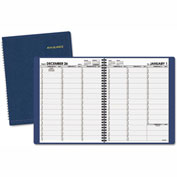 AT-A-GLANCE® Weekly Appointment Book, 8 1/4 x 10 7/8, Navy, 2017-2018