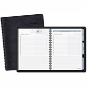 AT-A-GLANCE® The Action Planner Daily Appointment Book, 6 7/8 x 8 3/4, Black, 2017