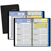 AT-A-GLANCE® QuickNotes Weekly/Monthly Appointment Book, 4 7/8 x 8, Black, 2017