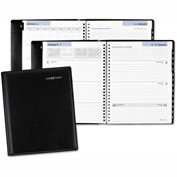 DayMinder® Executive Weekly/Monthly Planner, 6 7/8 x 8 3/4, Black, 2017