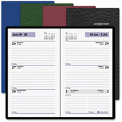 """AT-A-GLANCE® Recycled Weekly Pocket Planner 5/16"""" x 3-11/16"""" x 6-3/8"""" Assorted"""