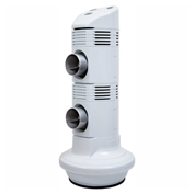 CULER® DUET™ Double-Port Flash-Evaporative Air Cooler CD20 3-Speed, 12V, 570 CFM