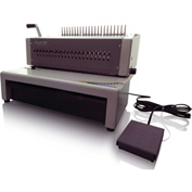 Swingline™ GBC® CombBind C800pro, Electric Binding Machine, Binds 500 Sheets, Punches 25