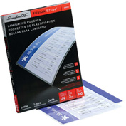 Swingline™ GBC® EZUse Thermal Laminating Pouches, Letter Size, 3 Mil, 100 Pack - Pkg Qty 12