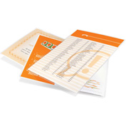Swingline™ GBC® Economy Thermal Laminating Pouches, Letter Size, 3 Mil, 200 Pack - Pkg Qty 12