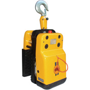 "Abaco New Generation Cable Lifter NGL75-B with Black Rubber Lined Jaws Grip Range 3/4"" to 3"""