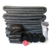 Sport Savers Combo Pack: 5 Mats, 6 Bags, 4 Tubes, 20 Stakes & Reaction Training Ball, SSRPPack
