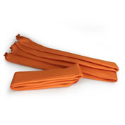 "Wick Ups Spill Berm, 2-1/2"" W x 10' L, Orange, 12/Box, WBU210-12"