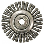 Stringer Bead Knot Wire Wheels-Stcm Series-Very Narrow Face, Anderson Brush 11145