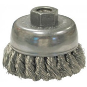 Knot Wire Cup Brushes For Small Angle Grinders-US & USC Series, ANDERSON BRUSH 18215