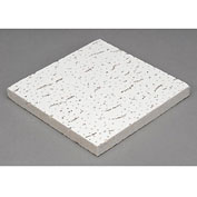 "Directional Fissured Mineral Fiber Ceiling Tile FH-157, Trim Edge, 24""L, 16 QTY"