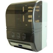 Frost Hands Free Roll Towel Dispenser - Gray Plastic - 109-70P